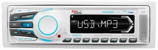 Медиаресивер Boss Audio Marine MR1308UAB, 50 Вт х4